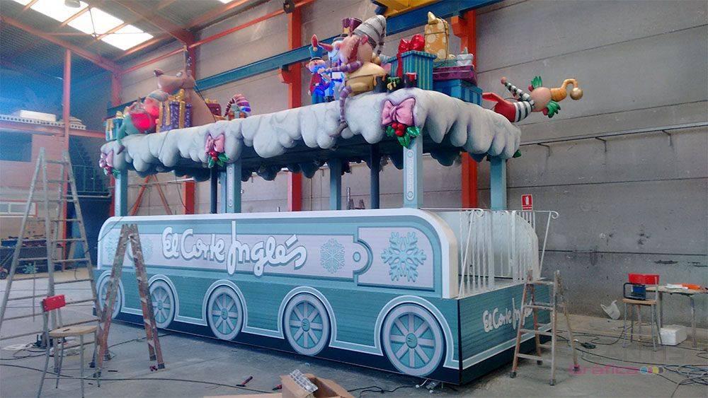 Decoración Para Carroza De Reyes